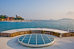 Lerici typical village, Castle and port in Liguria Royalty Free Stock Image