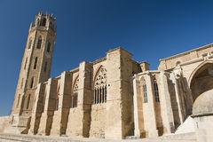 Lerida old cathedral Royalty Free Stock Photography