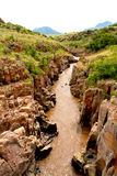 Lerig flod Royaltyfri Fotografi