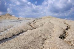 Lerig vulcano Arkivfoto