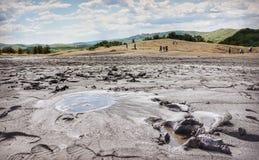 leriga vulkan Arkivbilder