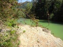 Lermontovo, rivière de montagne Photo stock