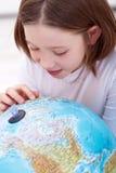 Lernen über die Welt lizenzfreie stockbilder