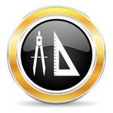 Lernen der Ikone Lizenzfreies Stockbild