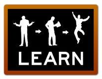 Lernen der intelligenten Lösung stock abbildung