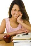 Lernen der jungen Frau Lizenzfreies Stockbild
