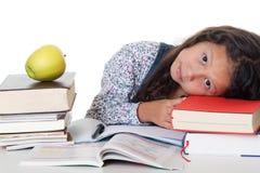 Lernen des Drucks an der Schule Stockfoto
