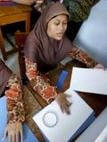 Lernen Sie Blindenschrift Lizenzfreies Stockfoto