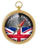 Lernen Sie Englisch als Konzept lizenzfreie abbildung