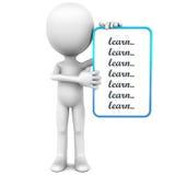 Lernen Sie Liste Lizenzfreie Stockbilder