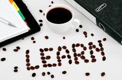 Lernen Sie Wort Lizenzfreies Stockbild