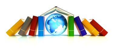 Lernen und internationales Schulkonzept Lizenzfreie Stockfotos