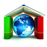 Lernen und internationales Schulkonzept Stockfotos