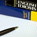 Lernen von Englisch Stockfoto