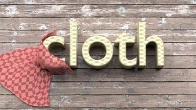 Lernen von englischen Vokabularwörtern, von Bildkarten für Kinder und von Erwachsenen Stockfoto