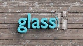 Lernen von englischen Vokabularwörtern, von Bildkarten für Kinder und von Erwachsenen Lizenzfreies Stockfoto