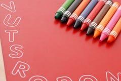 Lernen zu färben Lizenzfreie Stockfotos