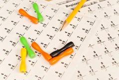 Lernen zu multiplizieren Lizenzfreie Stockfotos