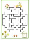Lernen zu zählen Karikaturzahlen des Gemüses und der Früchte, wie Stockfoto