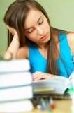 Lerning Girl Stock Images