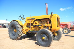 USA: Antique Tractor - 1958 Leroi stock image