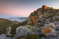 Leros island. royalty free stock photo
