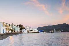 Leros wyspa Obrazy Royalty Free