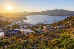 Leros wyspa Zdjęcie Stock
