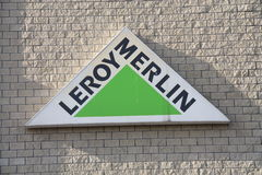 Leroy Merlin. Shot of Leroy Merlin store logo Stock Image