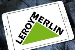 Leroy Merlin detalisty logo Fotografia Stock