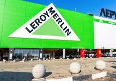 Leroy Merlin Samara Store nel giorno soleggiato Fotografia Stock