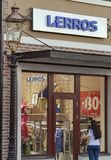 Lerros store in Manufactura, Ukraine first outlet village Stock Photos