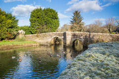 Lerryn Bridge Cornwall Royalty Free Stock Photo