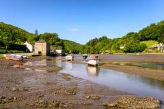 Lerryn in Cornwall Royalty Free Stock Photos