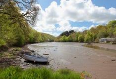 Lerryn flod Royaltyfri Bild