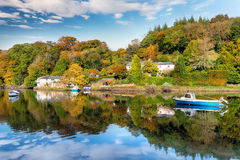 Lerryn River in Cornwall Royalty Free Stock Image