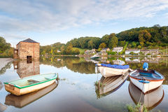 Lerryn River in Cornwall Royalty Free Stock Photography
