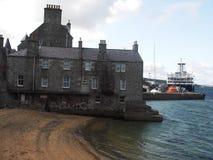 Lerwick港口,设得兰群岛,苏格兰 库存图片