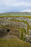 Lerwick, Broch of Clickimin, S stock images