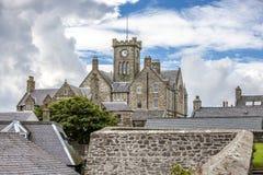 Lerwick, câmara municipal, Shetland, Scotland2 Fotografia de Stock Royalty Free