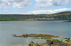 Lerwick, capitale di Shetland Fotografia Stock