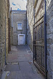 Lerwick City,old passage,Scotland Royalty Free Stock Photography