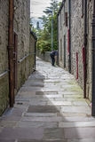 Lerwick City,old passage,Scotland3 Stock Photos