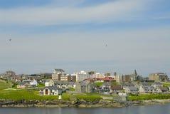 Lerwick en las islas de Shetland Imágenes de archivo libres de regalías