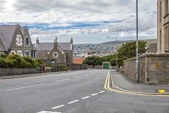 Lerwick Shetland, Skottland Royaltyfria Foton