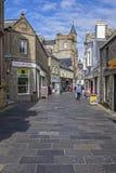 Lerwick stad, Scotland1 Arkivfoton