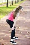 Lesão de joelho e dor running imagens de stock royalty free