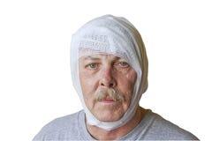 Lesão em a cabeça Foto de Stock