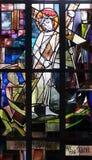 les 2èmes stations de la croix, Jésus est données sa croix Photos stock