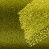 Les échantillons brillants de couleur conçoivent Couleur métallique grenue dispersée sur le fond vibrant Conception texturisée de photo libre de droits